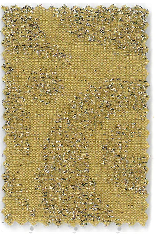 Soho - col.2 galben stralucitor cu inimioare aurii in relief