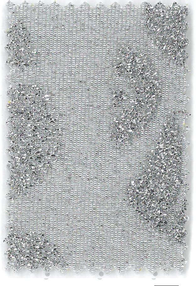 Soho - col.3 gri stralucitor cu inimioare argintii in relief