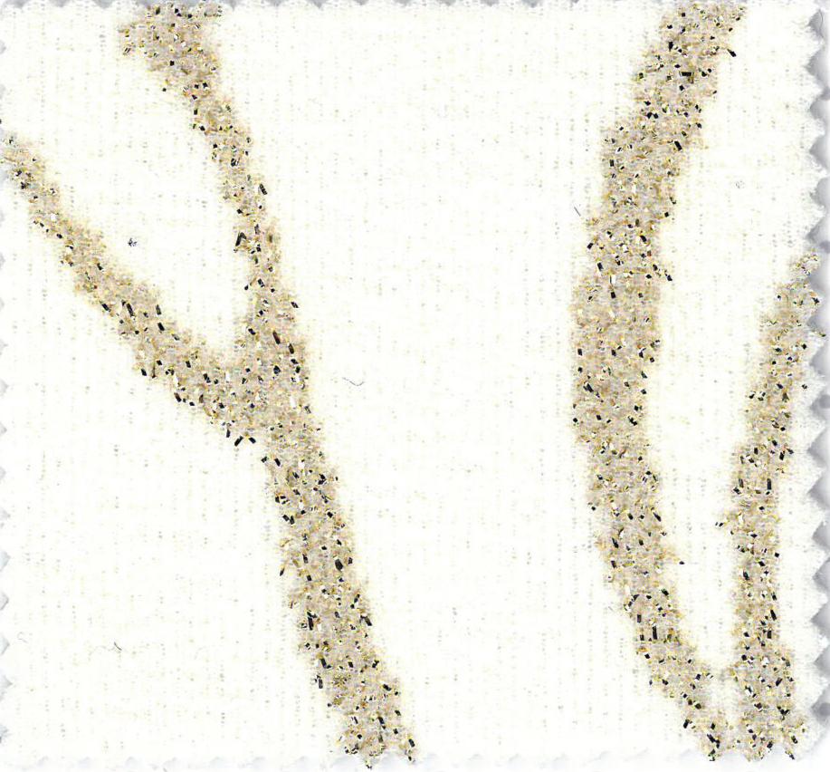 MONTMARTRE - col.9 crem deschid cu trandafiri aurii imprimati