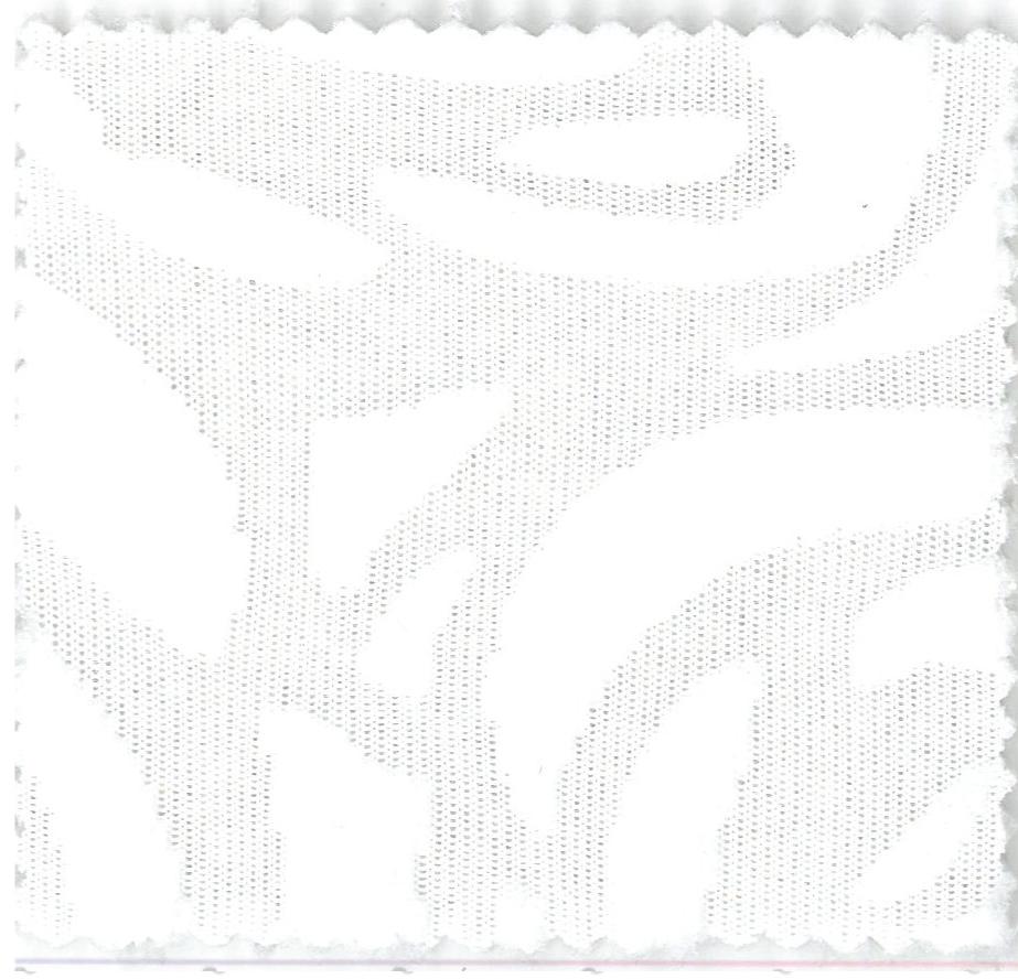 Notting Hill - col.1 alb cu model de trandafiri reliefati
